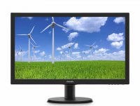 MONITOR PHILIPS 23.6' LED, 1920x1080, 5ms, 250cd/mp, vga+dvi-d (243S5LSB/00)