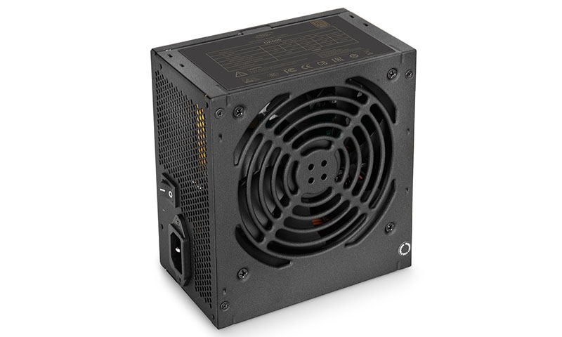 SURSA DEEPCOOL, 600W (real), fan 120mm PWM, 80 Plus Bronze, 85% eficienta, 4x PCI-E (6+2), 5x S-ATA