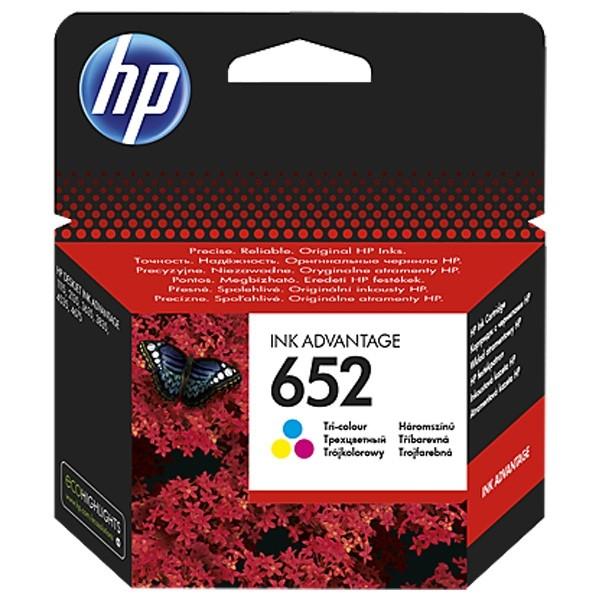 Cartus cerneala Original HP F6V24AE Tri-color 652,pentru DESKJET 2135 AIO (F6V24AE)