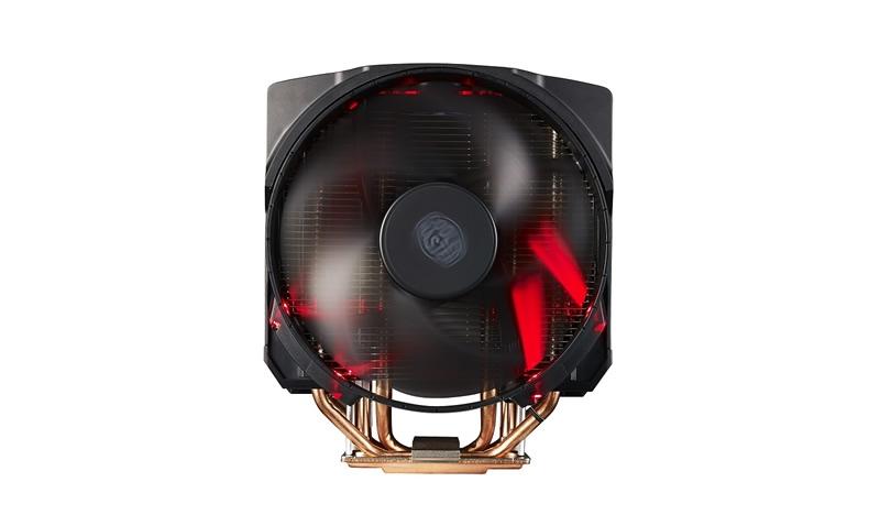 COOLER CPU COOLER MASTER. MasterAir Maker 8, universal, soc. LGA 2011(3)/1366/115x/775/FMx/AMx/, Al-Cu, 8* heatpipe 3DVC, 250W (MAZ-T8PN-418PR-R1)