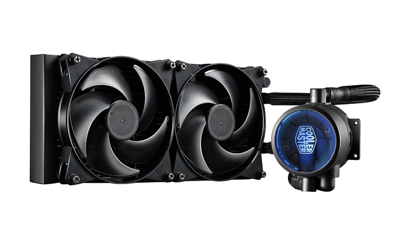 COOLER CPU LICHID COOLER MASTER MasterLiquid Pro 280, universal, soc. LGA 2011(3)/1366/115x/775/FMx/AMx, radiator 311x138x27 mm, 2x MasterFan PRO 120 Air Balance 140mm 'MLY-D28M-A22MB-R1