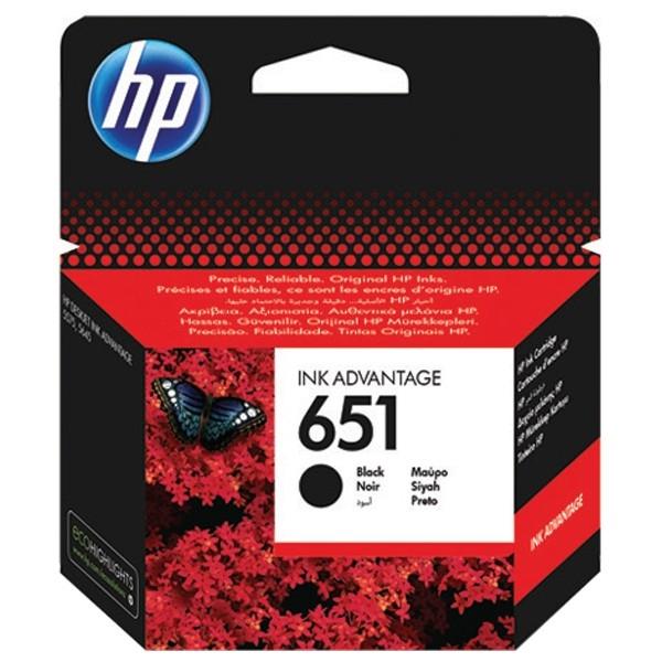 Cartus cerneala Original HP C2P10AE Black 651 (C2P10AE)