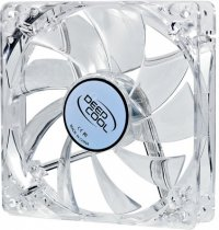 FAN FOR CASE DEEPCOOL 120x120x25 mm,  white led,  ''Xfan 120L/W