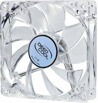 FAN FOR CASE DEEPCOOL 120x120x25 mm,  white led,  ''Xfan 120L/W