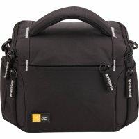 Geanta camera foto/video Case Logic TBC405K, buzunar frontal, 2 buzunare laterale, nylon, negru