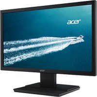 Monitor Acer V206HQLAB |19.5 inch, LED, TN panel, 1366 x 768, 16:9, 5ms, 200 cd/mp, VGA, negru | 36 Luni Garantie