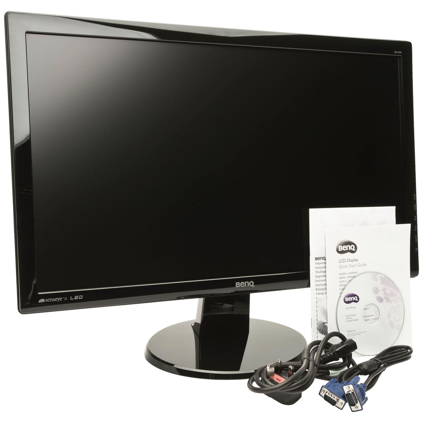 BenQ | GL2450 | GL2450 | 24 inch | LED | 1920 x 1080 pixeli | 16:9 | 250 cd/m² | 12000000:1 | 5 ms | Dimensiune punct 0.276 mm | Unghi vizibilitate 170/160 ° | D-Sub | DVI | Kensington lock | Negru | HDCP | OSD Language | Senseye 3