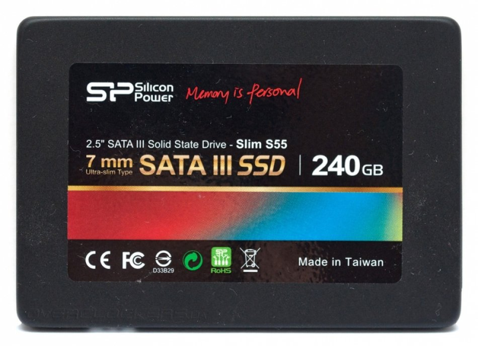 SSD Silicon Power S55 240Gb (SP240GBSS3S55S25)