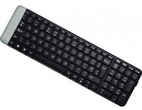 TASTATURA Logitech K230 Wireless Keyboard, USB, black (920-003347)