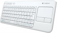 TASTATURA Logitech K400 Touch Wireless Keyboard, USB, white (920-005886)