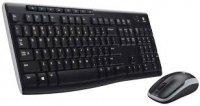 Kit tastatura+mouse Wireless Logitech MK270 Wireless Keyboard + mouse, USB, black (920-004508)