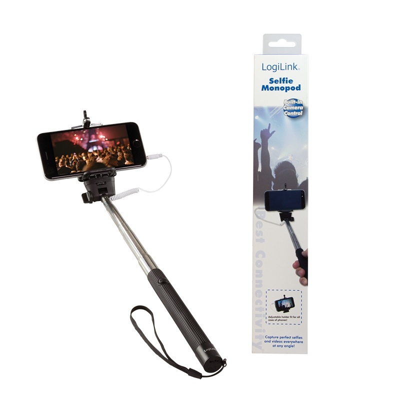 Wired Monopod 'Selfie Stick' Logilink (BT0032)