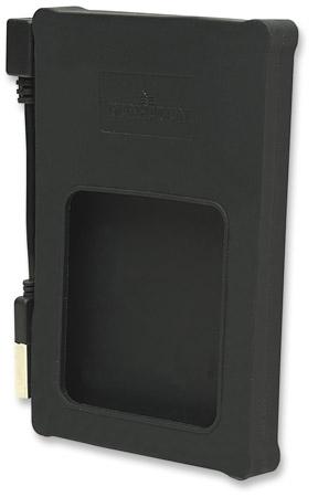 RACK EXTERN  2.5' SATA HDD, Black Silicone, 1x Hi-Speed USB 2.0 Port, Blister (130103)