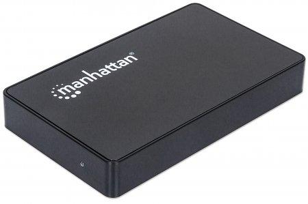 RACK EXTERN  2.5' SATA HDD, Black Aluminum, 1x SuperSpeed USB 3.0 Port, Retail Box (130349)