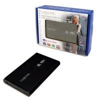 HDD Enclosure 2.5' SATA Logilink USB 3.0, aluminiu, Black (UA0106)