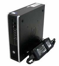 Calculator HP Compaq Elite 8300 Ultra-slim desktop PC, Intel® Core a treia generatie i5-3470 3.2 GHz, 6MB cache, 4GB DDR3, HDD 320GB, DVD-RW, SOUND, Lan, USB, Licenta Windows 7 Professional, RFB