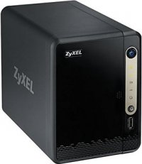 ZyXEL 2-bay Personal Cloud Storage, Dual Core CPU 1.3GHz, 512MB DDR3 memory, 2 SATA II 2.5'/3.5'HDD, RAID 1/0, JBOD, 2x USB 3.0 + 1x USB2.0, 1Gbps LAN, DLNA, FTP, BitTorrent Client, ownCloud/Dropbox/Memopal, HDD not included, smart fan (NAS326-EU0101F)