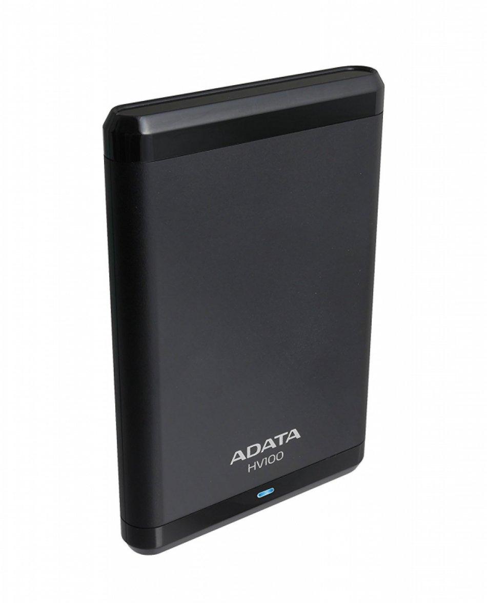 HDD ADATA EXTERN 2.5' USB 3.0 1TB  HV100 Black 'AHV100-1TU3-CBK' (include timbru verde 0.01 lei)