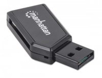Card Reader USB 2.0  Hi-Speed, 24-in-1, Manhattan '101677'