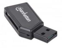 Card Reader USB 2.0  Hi-Speed, 24-in-1, Manhattan '101677'