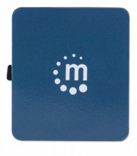 HUB USB 2.0 extern, 4*USB,  Blue, Bus Powered, Manhattan