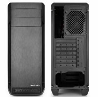 CARCASA DEEPCOOL ATX  Mid-Tower, 1* 120mm fan (inclus), front audio & 1x USB 3.0, 2x USB 2.0, black 'D-SHIELD'