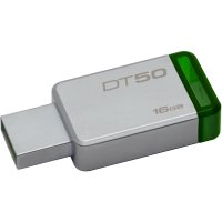USB3.0  16GB KINGSTON DataTraveler50   'DT50/16GB'  (include timbru verde 0.01 lei)
