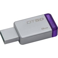 USB3.0   8GB KINGSTON DataTraveler50   'DT50/8GB'  (include timbru verde 0.01 lei)