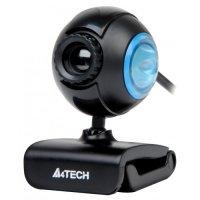 Camera Web cu microfon A4TECH (PK-752F), USB 2.0, senzor: 1/6' CMOS, rezolutie foto: 16MP software si video: 0.3MP, capac protectie lentile, culoare: negru-albastru