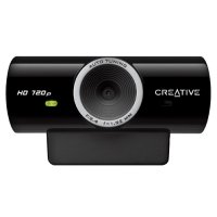 Camera Web cu microfon CREATIVE Live! Cam SyncHD (73VF077000001), USB 2.0, senzor HD 720p, rezolutie foto: 3.7MP interpolati si video: 1MP, culoare: negru