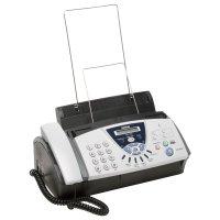 Brother Fax T106, Plain Paper Thermal Transfer Fax 14400 bps, Copier, Fax Telephone Switch Integrated telephone handset, Apelare one-touch : 4 numere, Apelare rapidă : 100 numere, Alimentare automată cu până la 10 coli, Capacitate hârtie de până la