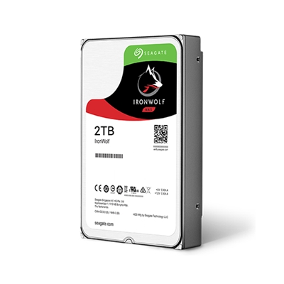HDD  2TB 5900 64M S-ATA3 'IronWolf' SEAGATE 'ST2000VN004'