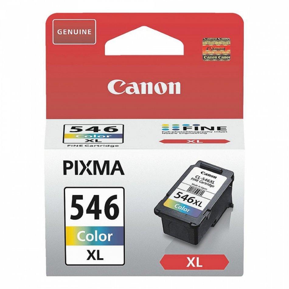 Cartus cerneala Original Canon CL-546XL Color, compatibil MG2450/MG2550 (BS8288B001AA)