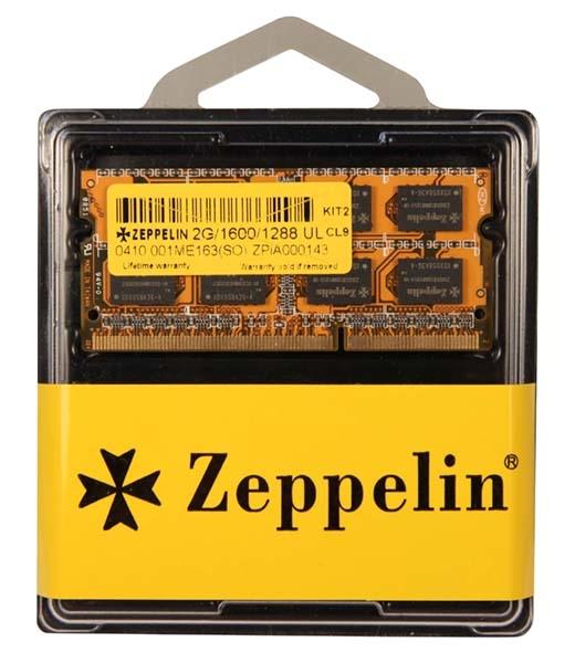 Zeppelin SODIMM 4GB DDR3 1600MHz (ZE-SD3-4G1600)
