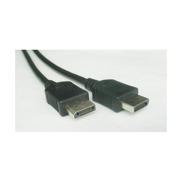 Cablu de date DisplayPort digital tata-tata, lungime cablu: 1.8m, bulk, Negru, GEMBIRD (CC-DP-6)