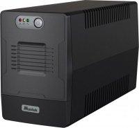 UPS  MUSTEK PowerMust 1000 Line Interactive  LED (1000VA / 600W), Schuko, '1000-LED-LI-T10' (include timbru verde 3 lei)