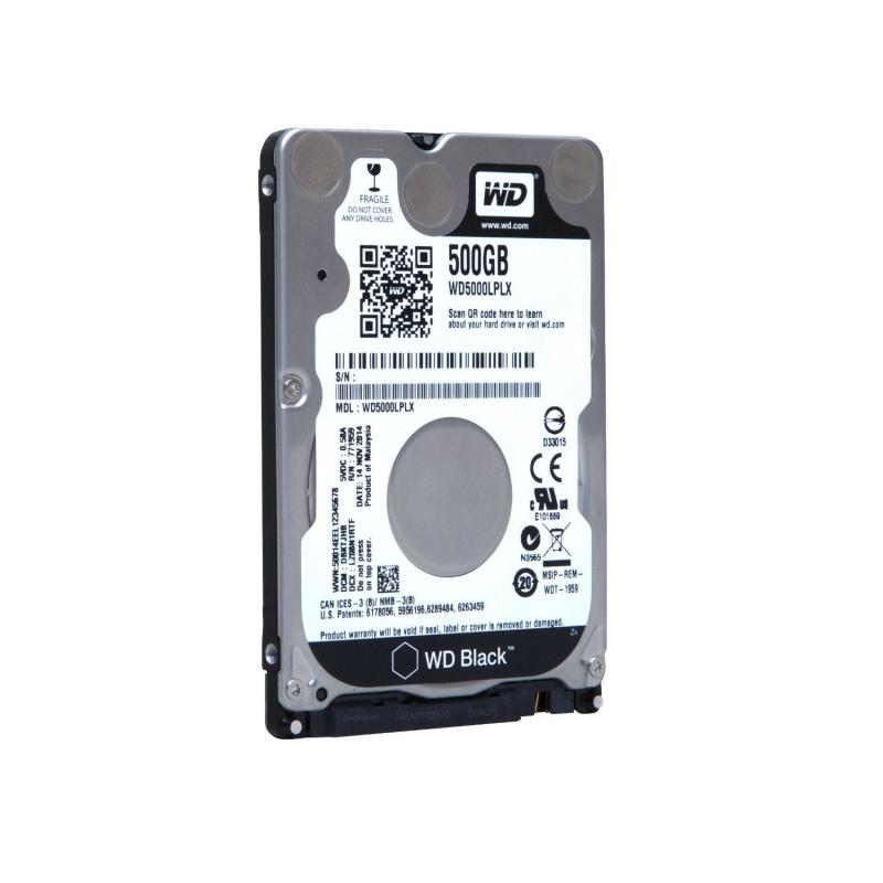 HDD  Notebook 2.5'  500GB 7200rpm 32M SATA3 WD (WD5000LPLX)