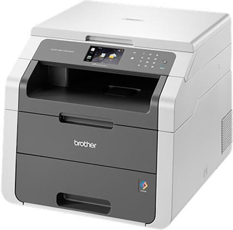 Brother DCP9015CDW, Multifunctional laser color A4 (print/copy/scan), viteza printare: 18ppm mono/color, rezolutie printare: 2400 x 600 dpi, memorie: 192 MB, PCL6, BRScript3, tava 250 coli, LCD TFT color tactil 9,3cm, copiere independenta de calculator, r