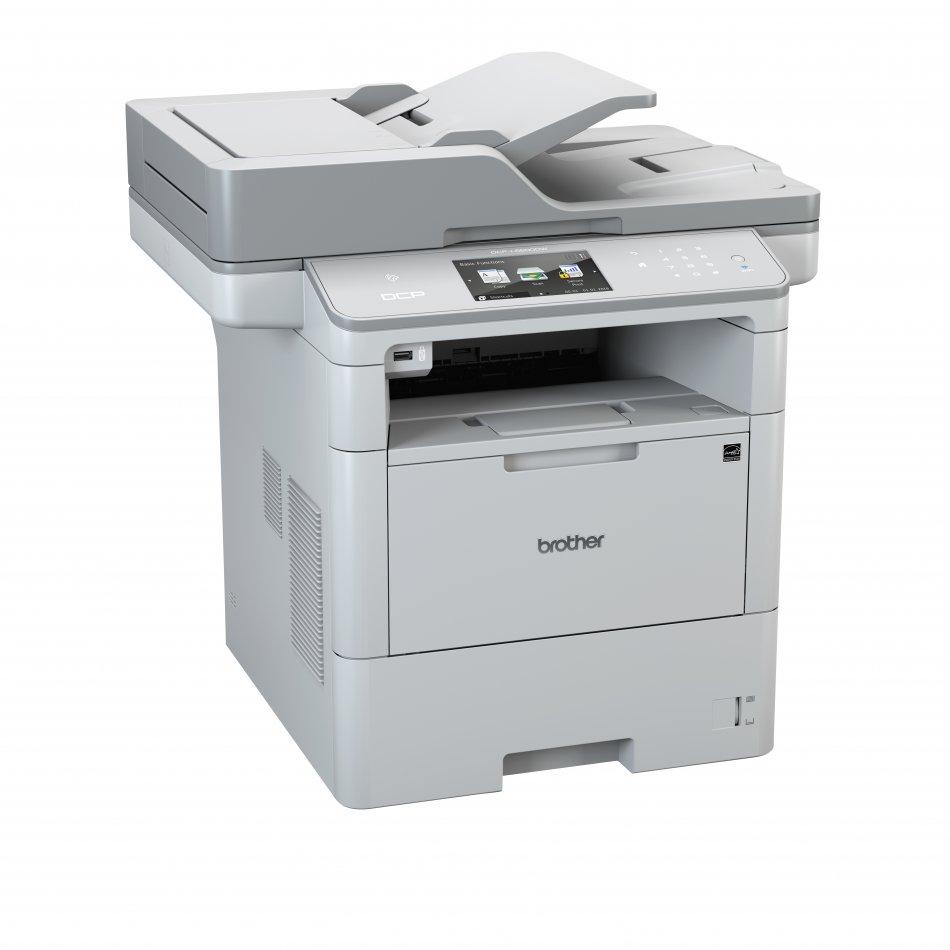 Multifunctional Brother DCPL6600DW, laser mono A4 (print/copy/scan), viteza imprimare: 46 ppm, viteza copiere: 46ppm, viteza scanare:50 ipm mono/20 ipm color, rezolutie imprimare: 1200 x 1200 dpi, rezolutie copiere: 1200 x 600 dpi, rezolutie scanare: 1200