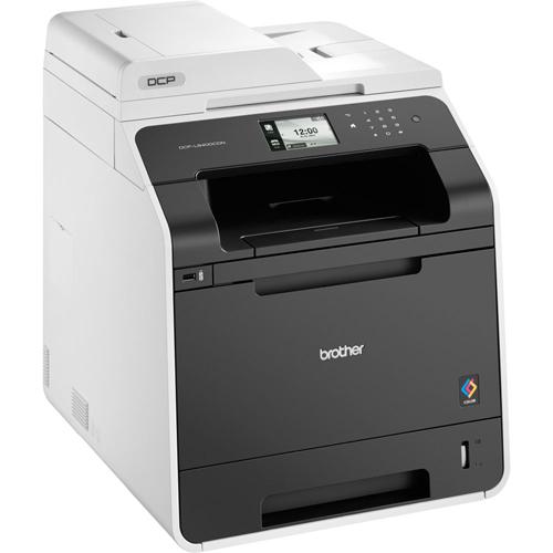 Brother DCPL8400CDN, Multifunctional laser color A4 (print/copy/scan), viteza printare: 28ppm mono/color (14ppm duplex), rezolutie 2400x600 dpi, fpo 15 sec, 256 MB (max 512MB), tavi 50+250 coli, duplex (print), ADF: 35 coli, viteza copiere 28 cpm, rezolut