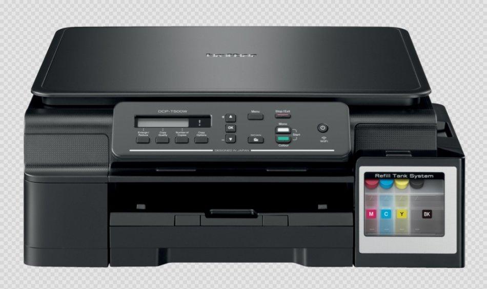 Brother DCPT500W Multifunctional inkjet A4 (prin/copy/scan), viteza printare: 27/10 ppm(11 / 6 ipm), viteza copiere: 4.4 imp mono/2.7 ipm color, rezolutie printare: 1200 x 6000dpi, rezolutie copiere: 1200 x 1200 dpi, rezolutie scanare: 1200 x 2400 dpi, me