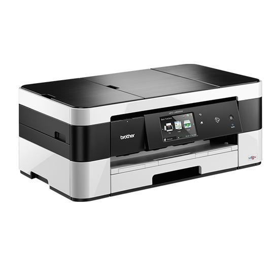 Brother MFCJ4620DW, Multifunctional inkjet A4 ( print/scan/copy/fax), viteza printare: 22/20 ipm, rezolutie 6000 x 1200 dpi, memorie 128 MB, tava 150 coli, ADF 20 coli, duplex A4 (print), LCD color tactil de 9.3cm cu controale sensibile la atingere; copie