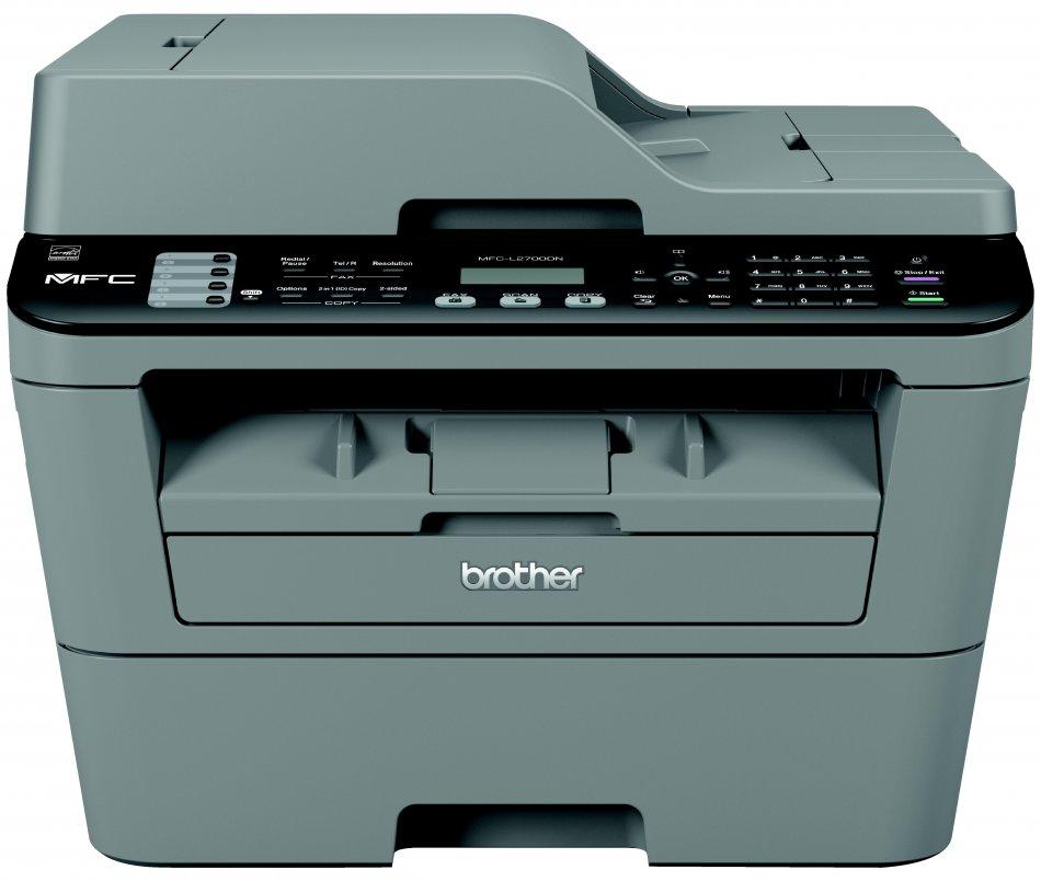 Brother MFCL2700DN, Multifunctional laser mono A4 (print/copy/scan/fax), viteza printare: 26 ppm, rezolutie: 2400x600 dpi, copiere: 26 cpm, Fax 33.6 kbps, rezolutie scanare: 2400x600, ADF: 35coli, memorie 32 MB , copiere independenta PC, scanare catre e-m