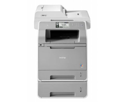 Brother MFCL9550CDWT, Multifuncional laser color A4 (print/copy/scan/fax), viteza printare:28/28ppm, rezolutie: 2400 x 600 dpi, viteza copiere: 28/28cpm, rezolutie copiere: 1200 x 600 dpi, ADF:35 coli, rezolutie scaner: 1200 x 2400 dpi, Fax 33.6kbps, PC F