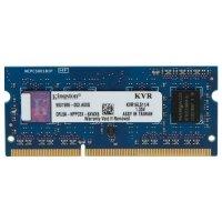 Kingston SODIMM 4GB DDR3 1600MHz , Low voltage 1.35V  (KVR16LS11/4)