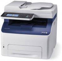 Xerox WorkCentre 6027NI, Multifunctional laser color A4 (print/copy/scan retea/FAX), viteza printare:18ppm mono/18ppm color, rezolutie printare: 1200x2400dpi,  fpo 12s black/13s color, memorie: 512MB, tava hartie:150 coli, iesire:100 coli, PCL5,6/PS3/PDF