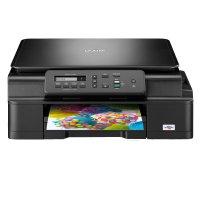 Brother DCPJ105YJ1, Multifunctional inkjet A4 (print/copy/scan), viteza printare: 11 ipm mono/6 ipm color, viteza copiere: 4.4 ipm/ 2.7 ipm , rezolutie imprimare: 6000 x 1200 dpi, rezolutie copiere: 1200 x 1200 dpi, rezolutie scanare: 1200 x 2400 dpi opti