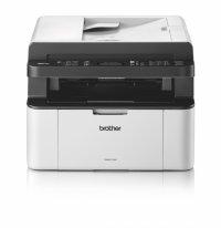 Brother MFC1910W, Multifunctional laser mono A4 (print/copy/scan), viteza printare: 20 ppm, rezolutie: 2400x600 dpi, viteza copiere: 20 cpm, rezolutie copiere: 600x600 dpi, rezolutie scanare: 600x1200 dpi, memorie: 32MB, zoom 25% - 400%, max 99 copii, cop