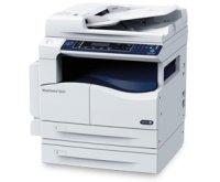 Xerox WorkCentre 5022, print/copy/scan, A3, max 22 ppm, max 600x600dpi, 256MB, tav1 100+250 coli, duplex, DADF 110 pag, limbaje HBPL, PCL cu optiune de retea; copy: max 600x600dpi, fco 7.2 sec; scan : max 600x600dpi mono, 300x300dpi color, 18ipm mono, 4ip