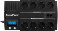UPS  CYBER POWER Brick series II Green Power 420W (700VA) Line Interactive, AVR, LCD, USB Charger Port (+5VDC) (BR700ELCD)